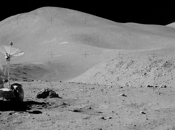 アポロ15号の撮影画像