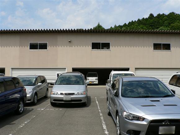 反対側の倉庫の様子