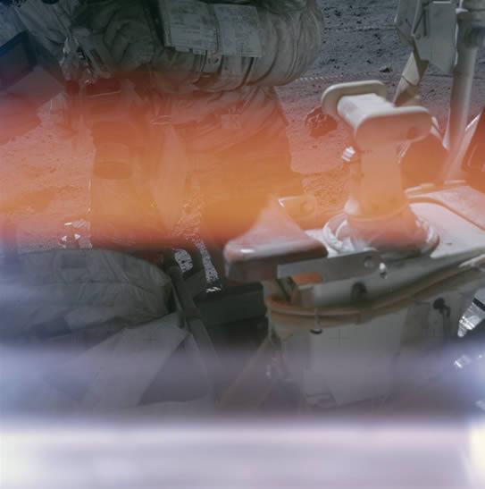 アポロ16号のときの失敗写真1