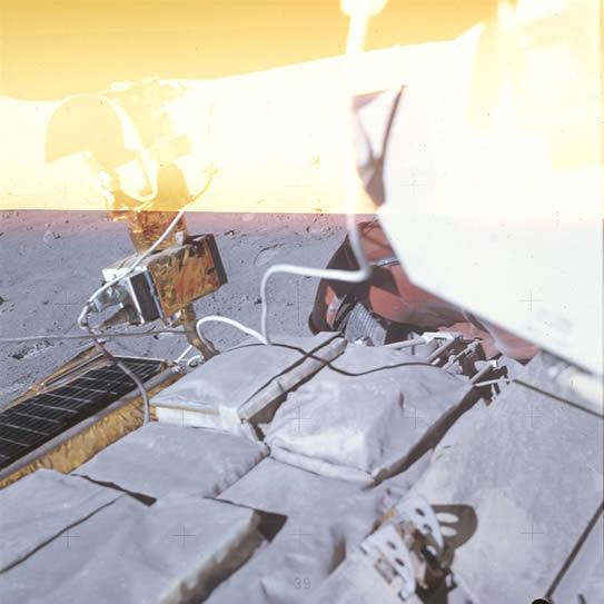 アポロ16号のときの失敗写真2