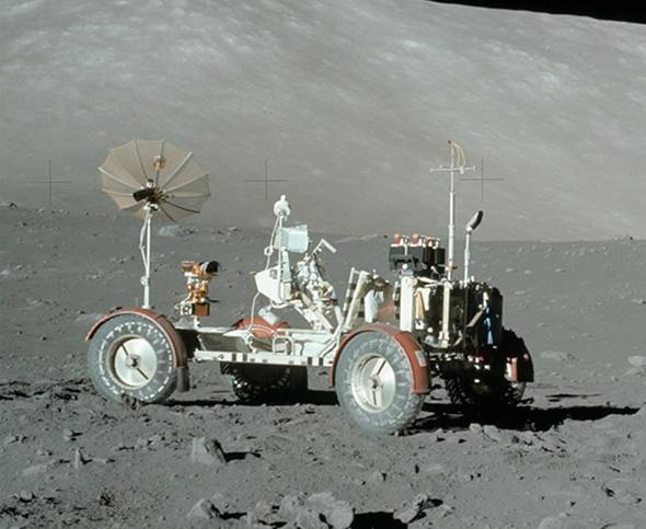アポロ17号の月面車