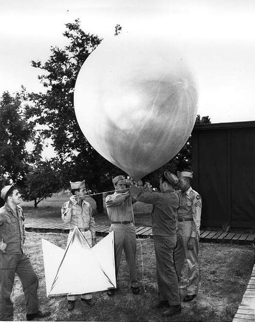 気球と観測装置